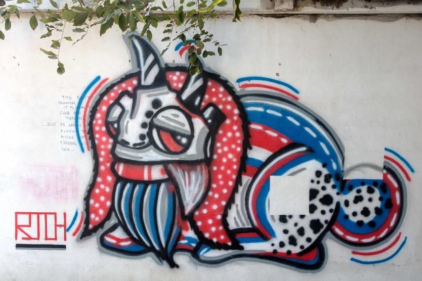 Chiang Mai Street Art 55