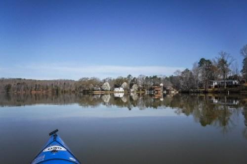 Saluda Lake Paddling-8