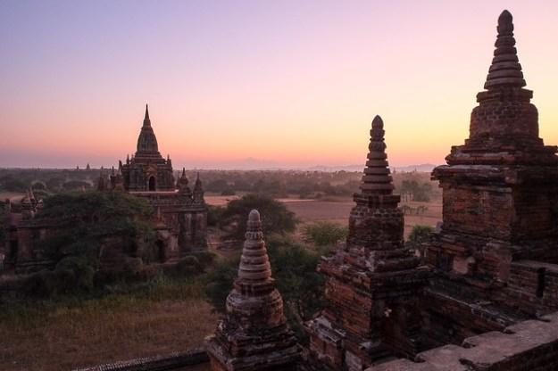 Sunset from Guni. Bagan