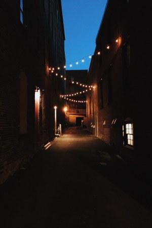 Grannan street alleyway