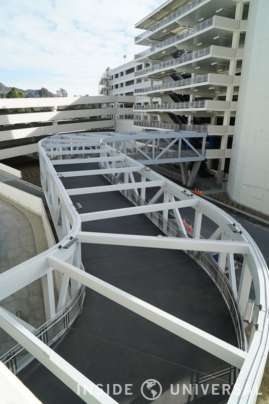 January 5, 2016 Update - E.T. Parking Structure - Universal Studios Hollywood