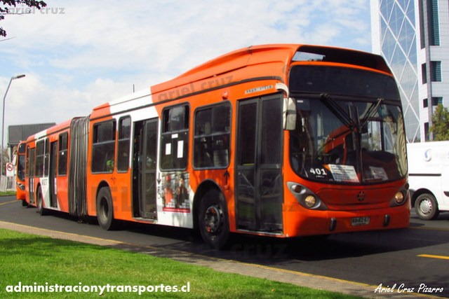 Transantiago (401) - Express - Marcopolo Gran Viale / Volvo (WA8257)