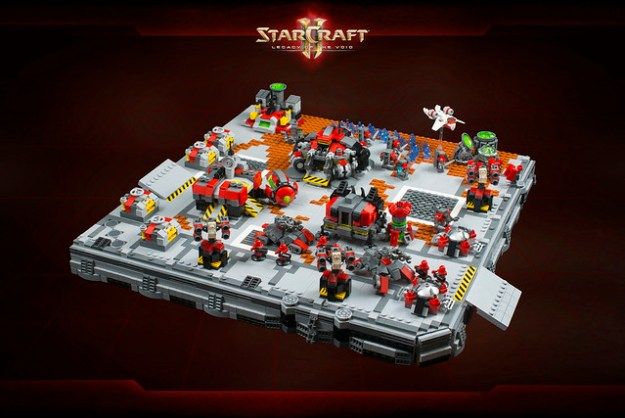 StarCraft II - Terran Dominion base
