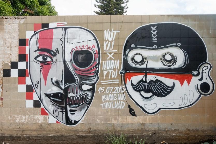 Chiang Mai Street Art 32
