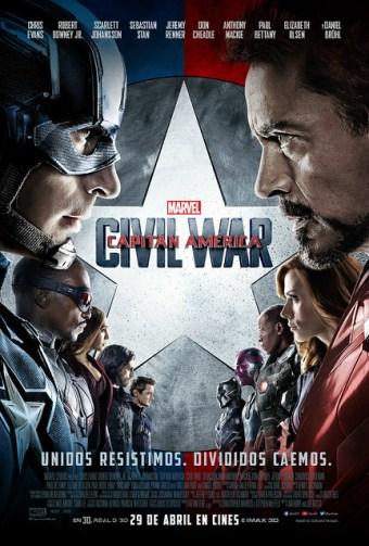 Capitán América: Civil War - Estreno de cine