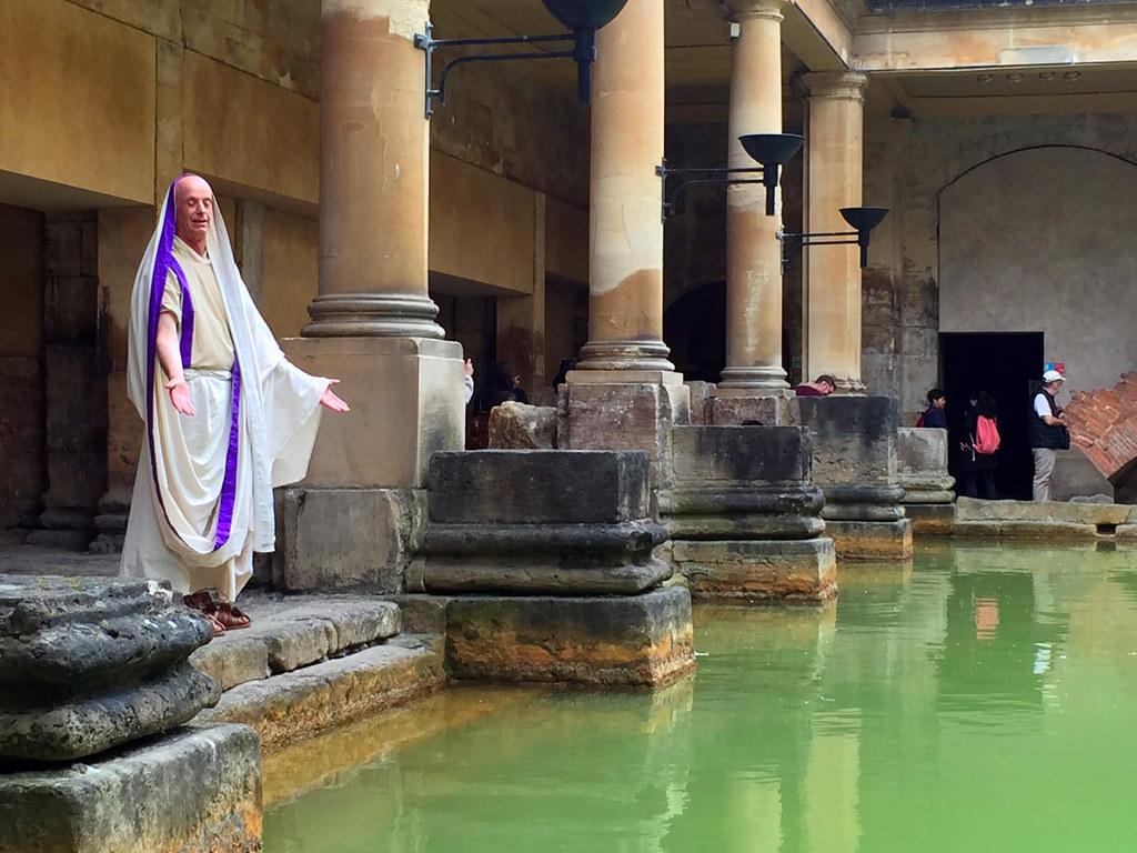 Bath en un día: Baños Romanos de Bath en Inglaterra Bath en un día Bath en un día, el SPA de Roma en Inglaterra 25057215082 519b30ab56 b