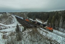 AIV Alberta Canada Train