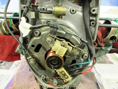 Alternator and Wiring Installed