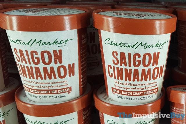 H-E-B Central Market Saigon Cinnamon Small Batch Ice Cream