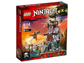 LEGO Ninjago 70594 The Lighthouse Siege box