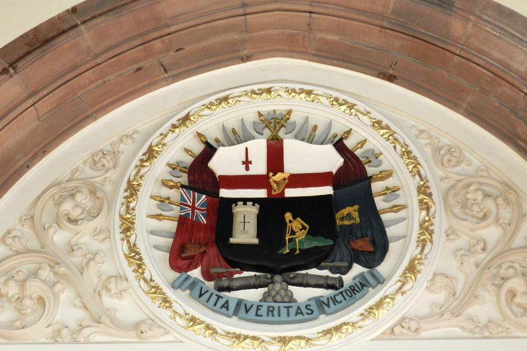 Escudos Heraldicos Guildhall Londonderry Ulster 06