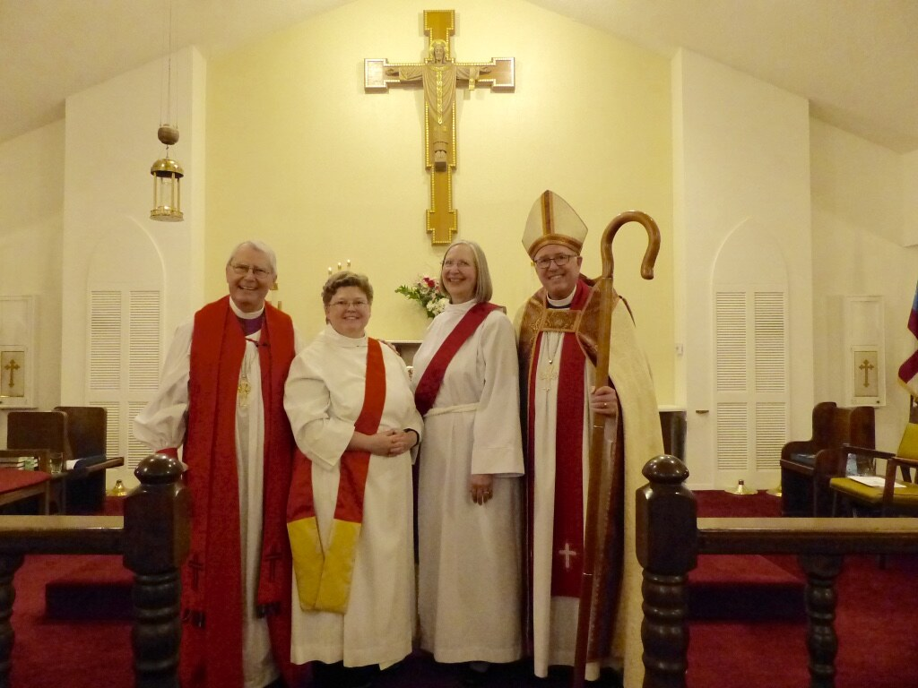 Lisa Neilson and Lynne Waltman ordained deacon