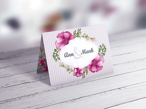 Invitation & Greeting Card MockUp vol.2