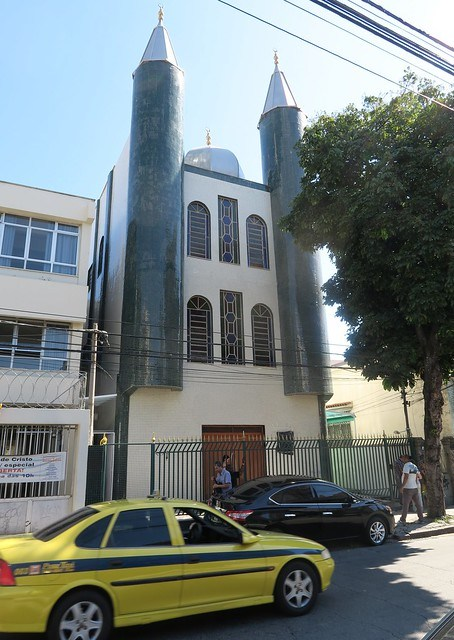Masjid Tijuca taxi outside