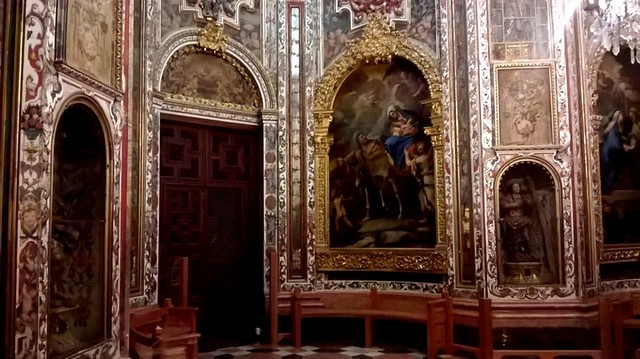 Interior del Monasterio de Guadalupe