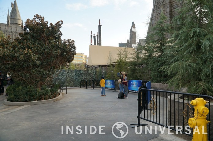 January 5, 2016 Update - Wizarding World of Harry Potter - Universal Studios Hollywood