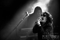 Ian Astbury of The Cult live at Mandela Hall, Belfast, 6 March 2016