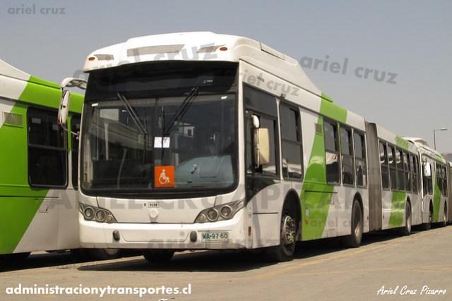 Transantiago - Subus Chile - Caio Mondego LA / Volvo (WA9760) (9198)