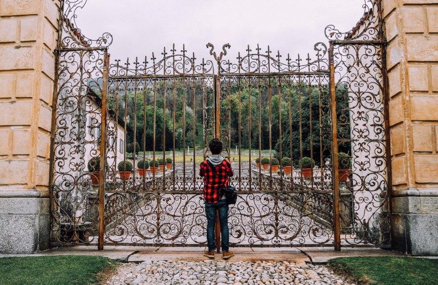 Cancello di Villa della Porta Bozzolo