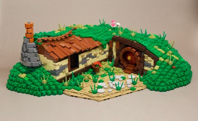 Hobbiton - A blooming Place to live - LEGO Hobbits