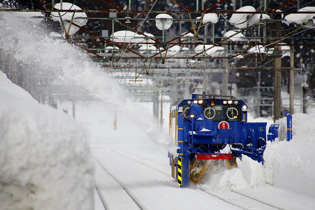 ENR-1000 Rotary snow plow