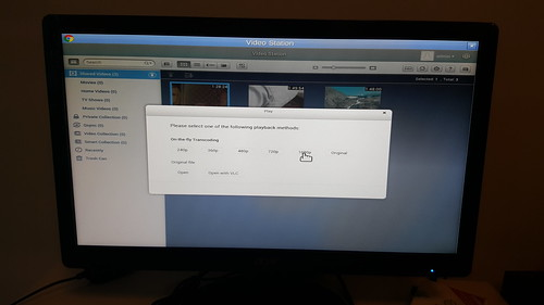 User Interface ของบางแอป มันไม่เวิร์กเท่าไหร่ เช่น Video Station นี่