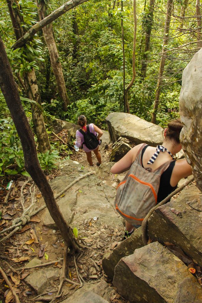 jungletrek i Cambodja