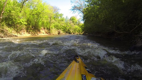 Paddling Turkey Creek and Stevens Creek