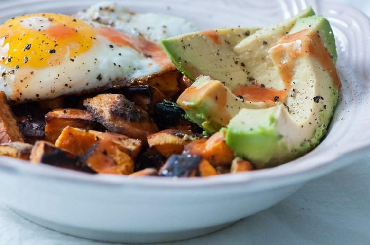 Sweet Potato Breakfast Bowls 2