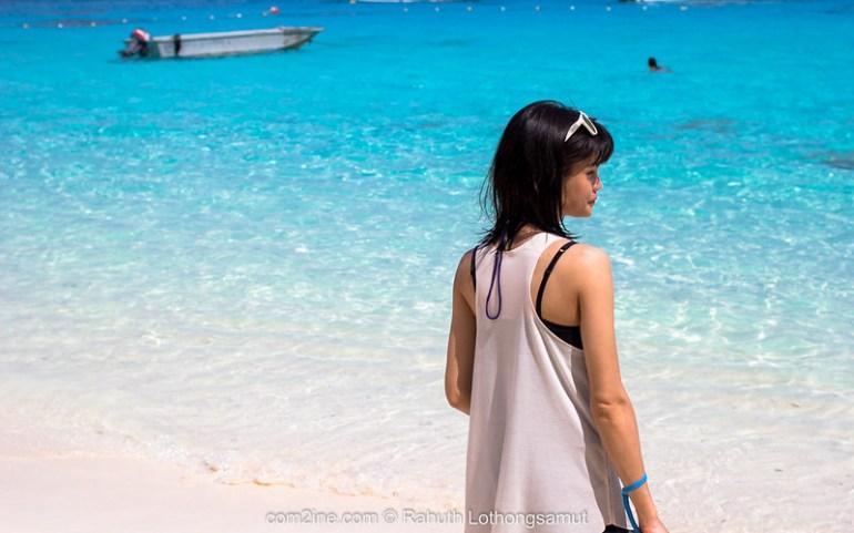 หาดเจ้าหญิง เกาะเมียง เกาะที่4 อุทยานแห่งชาติหมู่เกาะสิมิลัน
