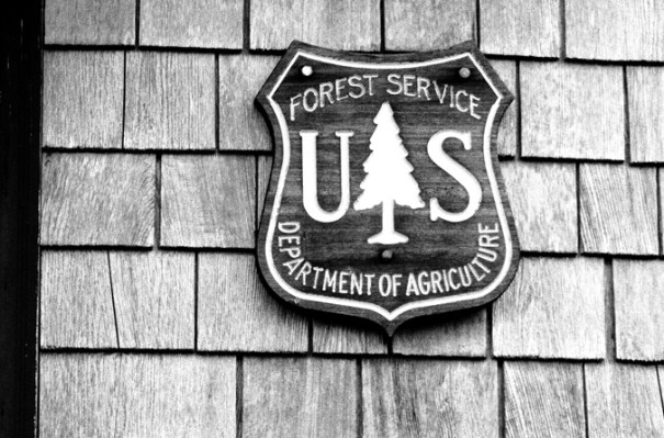 Galehead Hut Forest Service Sign