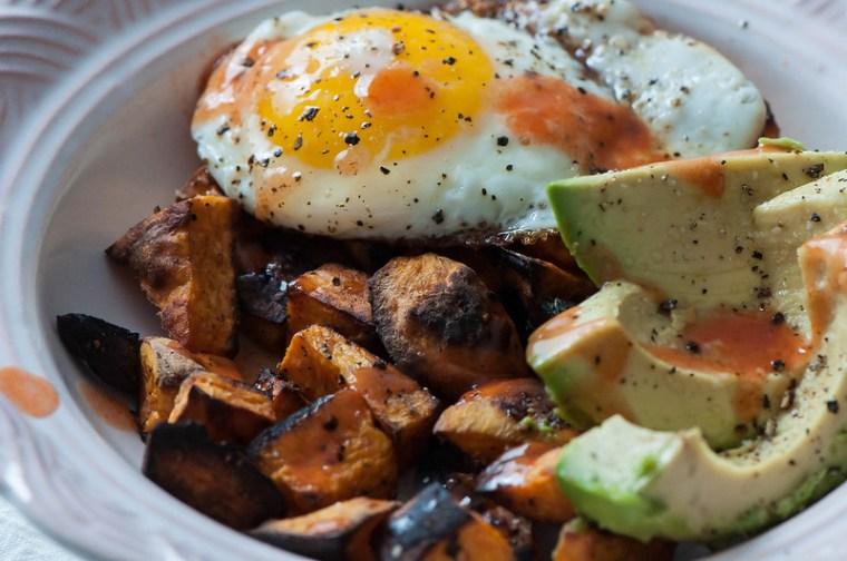 Sweet Potato Breakfast Bowls 4