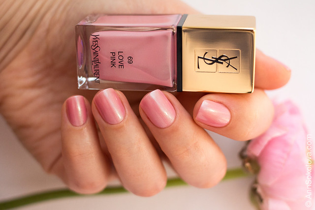 02 YSL #69 Love Pink Ann Sokolova swatches