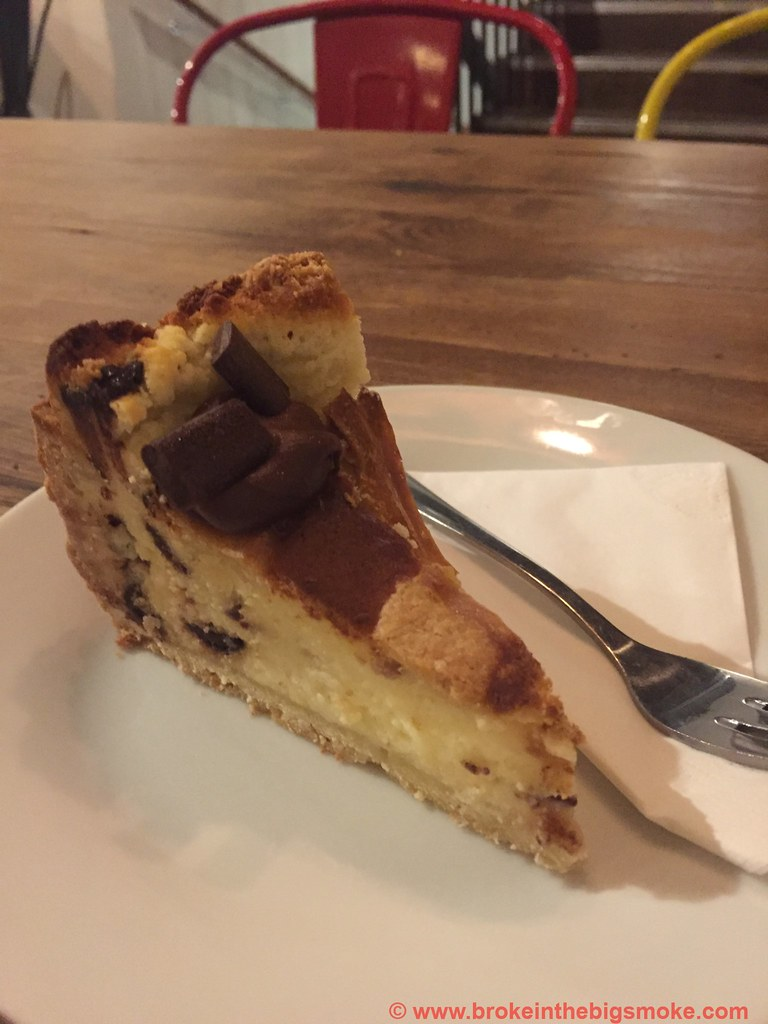Pasta Remoli Finsbury Park - Ricotta and chocolate cake
