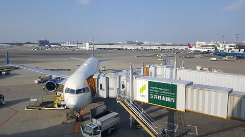 เครื่อง Delta DL284 ที่อาศัยมาจากกรุงเทพ