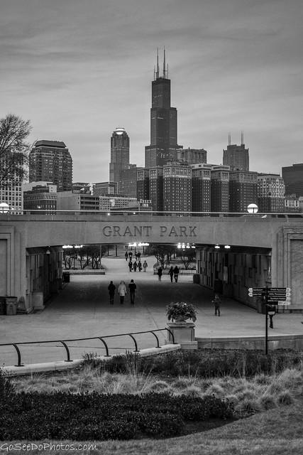 Grant Park Black & White