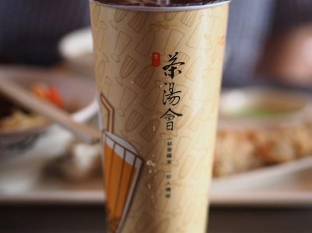 茶湯会のパールミルクティー