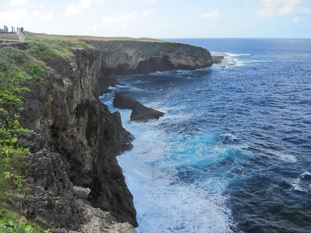 Picture from Banzai Cliff, Saipan