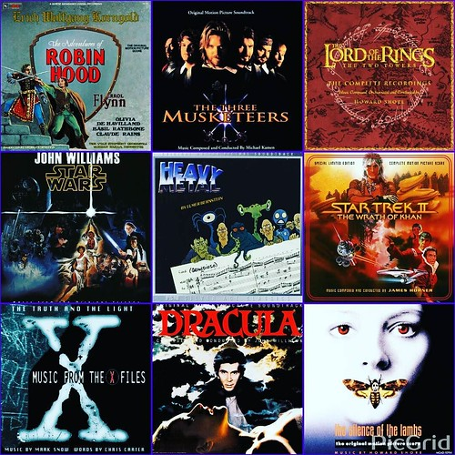 Day 7 of #AuthorLifeMonth is Writing Music! I listen to music a lot when I write. I love movie music, and here's a smattering of filmscores for various genres in which I work. Top row: fantasy and adventure music (lots of this right now for LIGHTHOUSE BOY