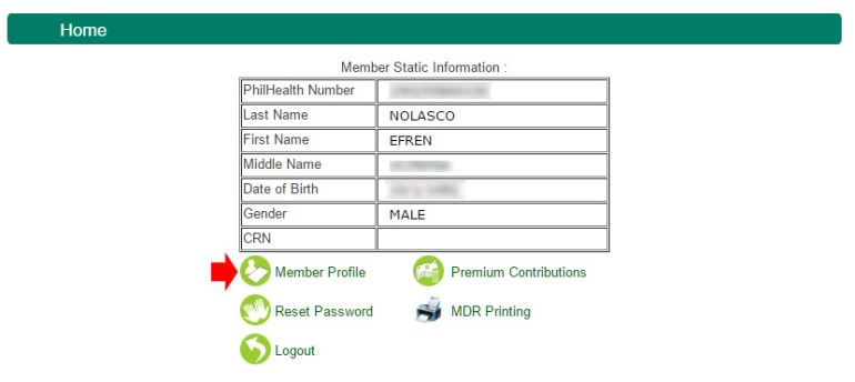 Philhealth beneficiaries - static info