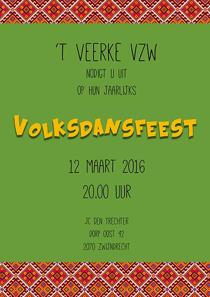 volksdansfeest 2016 't Veerke