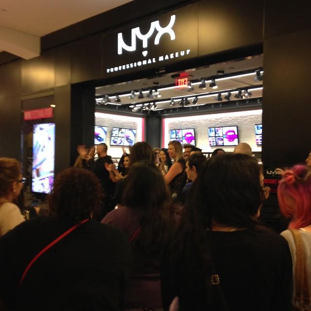 NYX Cosmetics Tyson's Corner Grand Opening Event