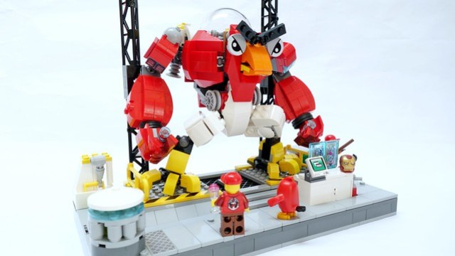 Robot LEGO Angry Birds