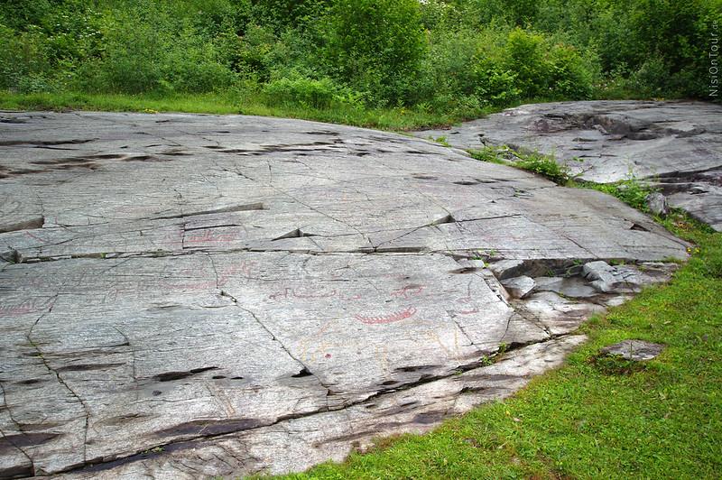 Felszeichnungen von Bardal bei Steinkjer