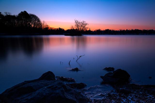 Jamaica-Pond-sunrise