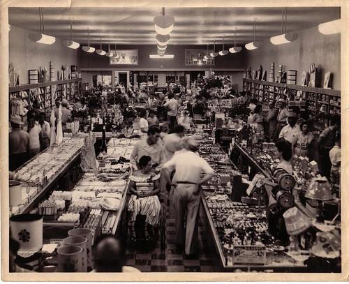 Ben Franklin Store Opening 1945