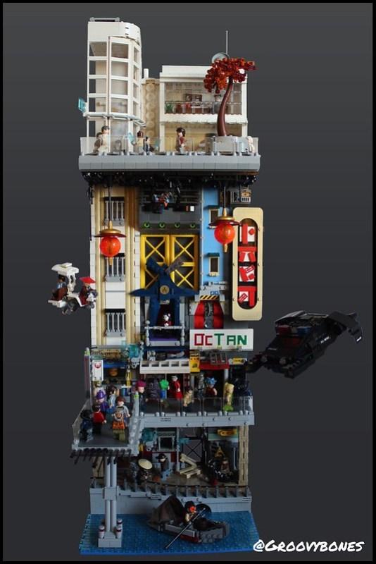 LEGO Cyberpunk Tripartite