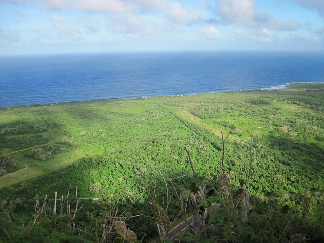 Picture from Mt. Marpi, Saipan