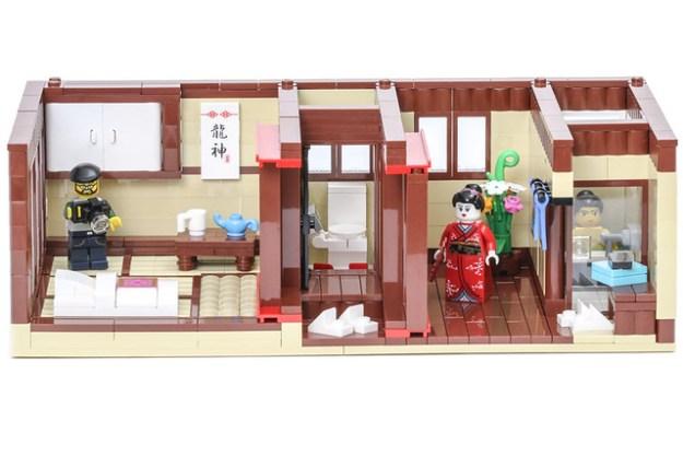 Ryokan (旅館) - Front
