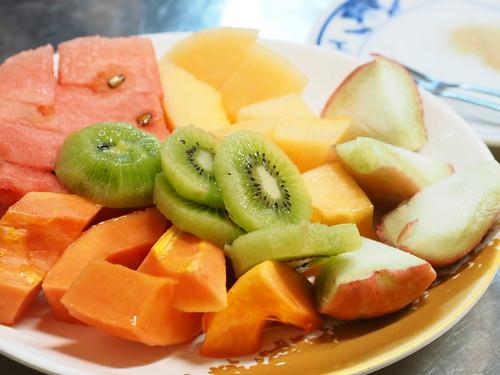 泰成水果店のフルーツ盛合せ